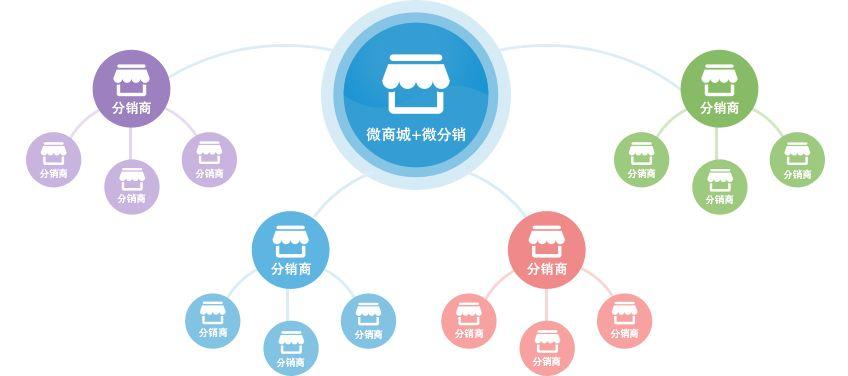 零云美合模式分销系统开发