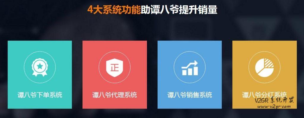 谭八爷代理分红系统开发 成熟案例