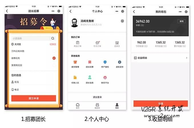乐乐生鲜社区团购小程序开发插图